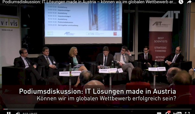 Screenshot of the panel discussion